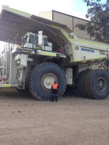 Komatsu 830 Haul Truck